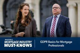 GDPR Basics for Mortgage Professionals