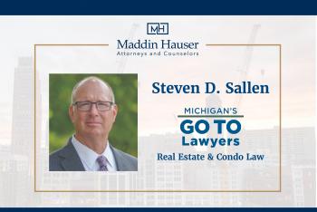 Steve Sallen Real Estate Law in Michigan